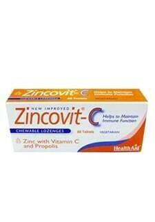 HEALTH AID ZINCOVIT-C 60 COMPRIMIDOS