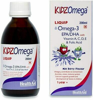 KIDZ OMEGA LIQUIDO 200 ML HEALTH AID