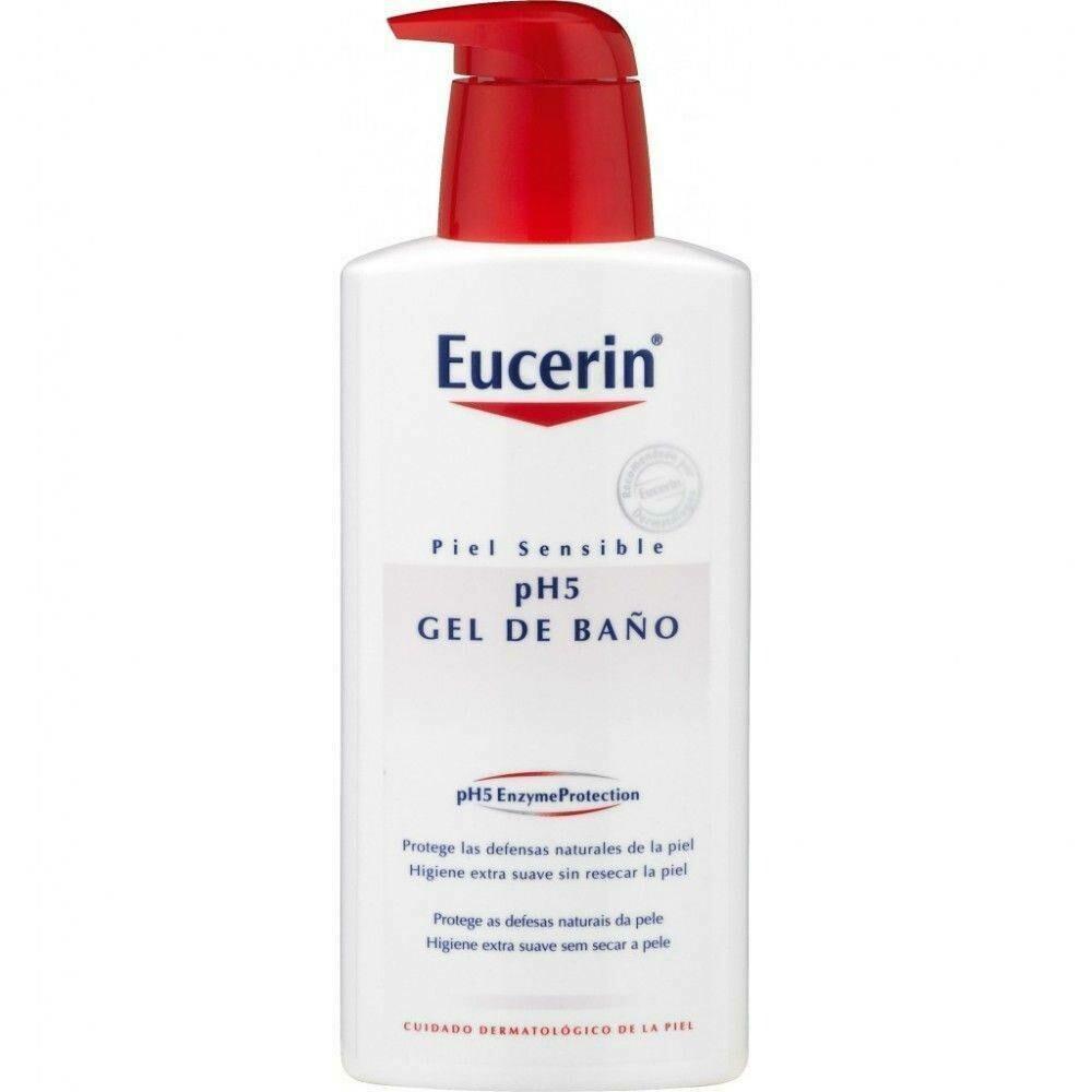 EUCERIN PIEL SENSIBLE PH-5 GEL DE BAÑO 1 L