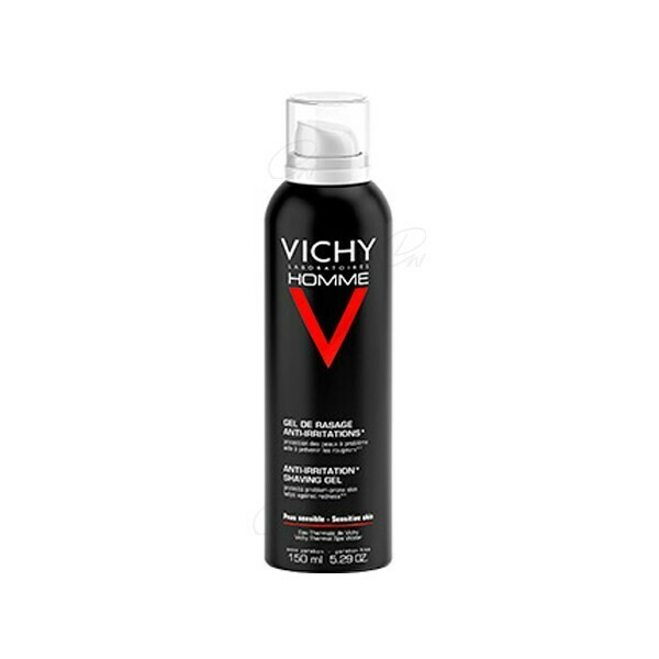 VICHY HOMME GEL-CREMA DE AFEITAR SIN JABON P SEN 200 ML