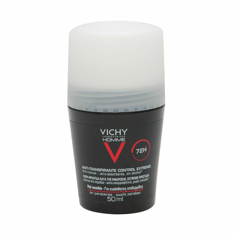 VICHY HOMME DESODORANTE REGULACION INTENSA 50 ML