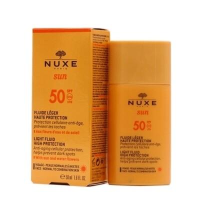 NUXE SUN  FLUIDO LIGERO SPF50