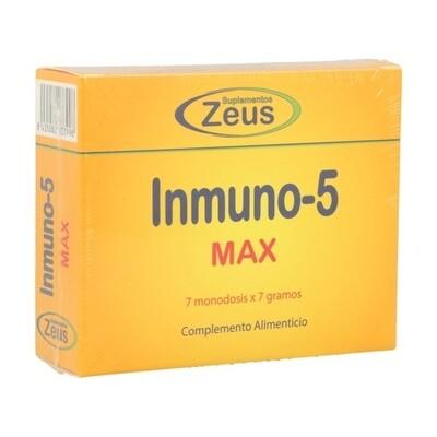 ZEUS INMUNO 5 MAX 7 SOBRES