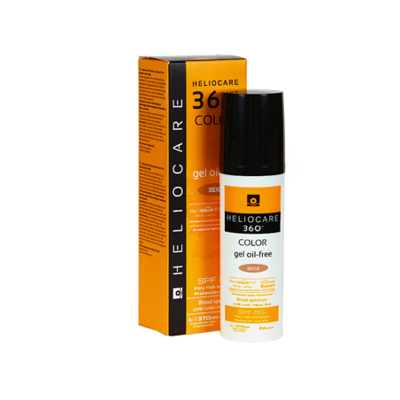 HELIOCARE 360º SPF 50  COLOR GEL OIL-FREE PROTEC BEIGE 50 ML