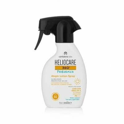 HELIOCARE 360º SPF 50  PEDIATRICS ATOPIC LOTION SPRAY 250 ML