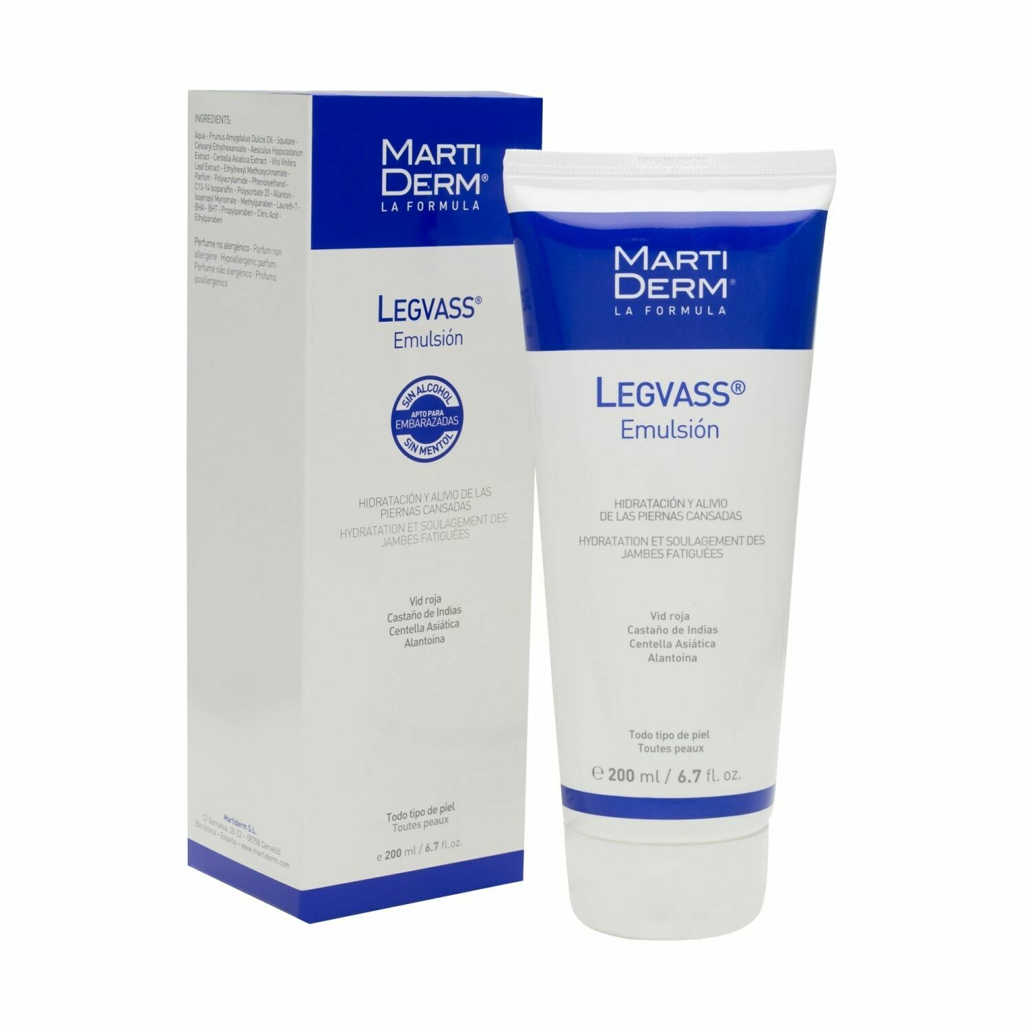 MARTIDERM LEGVASS EMULSION 200 ML