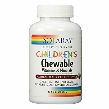 SOLARAY CHILDRENS CHEWABLE 60 PASTILLAS