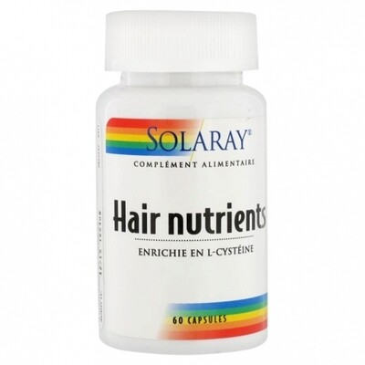 SOLARAY HAIR NUTRIENTS 60 CAPSULAS