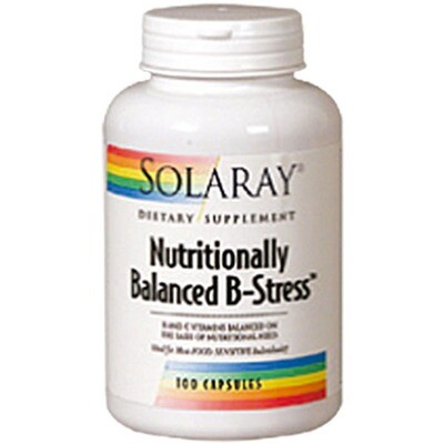 SOLARAY NUTRITIONALLY B.B. STRESS 100CAP