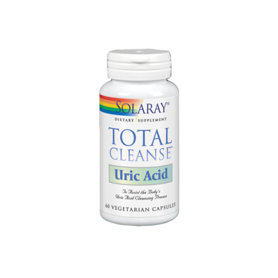 SOLARAY TOTAL CLEANSE URIC ACID 60 CAPSULAS