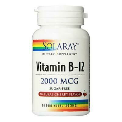 SOLARAY VITAMINA B12 90 COMP