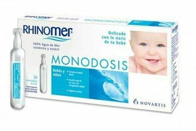 RHINOMER MONODOSIS 20 U 5 ML