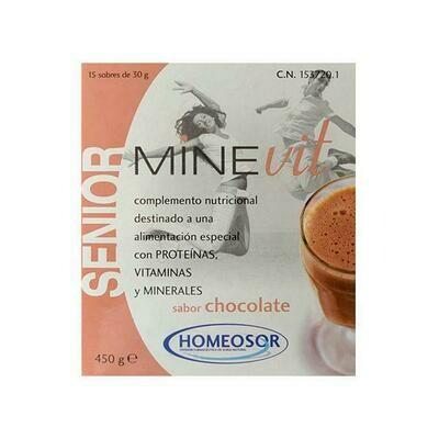 MINEVIT SENIOR 30 G 15 SOBRES CHOCOLATE