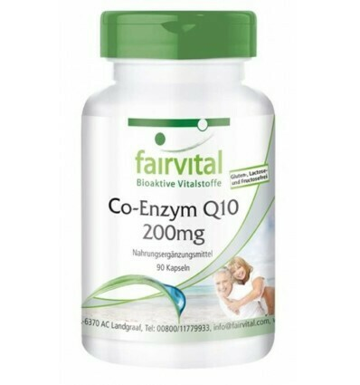 FAIRVITAL CO-ENZYM Q10 90CAP