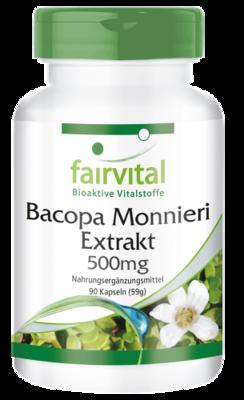FAIRVITAL EXTRACTO DE BACOPA MONNIERI  90 CAP