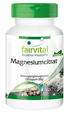 FAIRVITAL MAGNESIUM CITRAT 120 CAPS