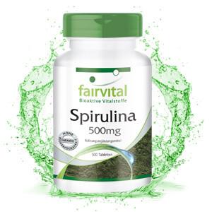 FAIRVITAL SPIRULINA 500 MG 500 PASTILLAS