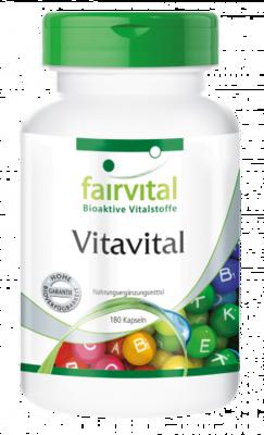 FAIRVITAL VITAVITAL 180 CAP