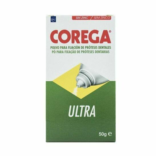 COREGA ULTRA ADHESIVO PROTESIS DENTAL POLVO  50 G