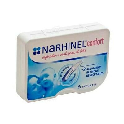 NARHINEL CONFORT ASPIRADOR NASAL 1 U  2 RECAMBIOS