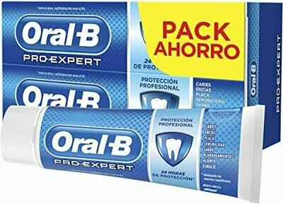 ORAL-B PRO EXPERT PROTECCION PROFESIONAL PASTA D PACK 100 ML 2 U