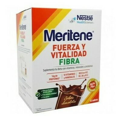 MERITENE FIBRA 35 G 14 SOBRES CHOCOLATE