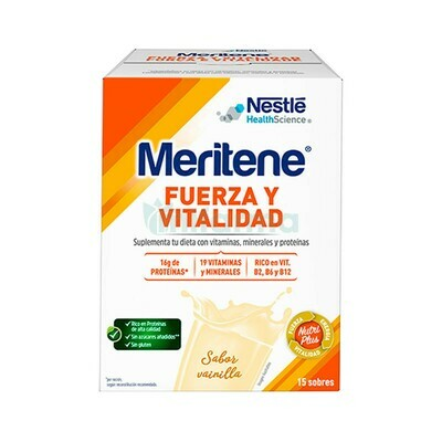MERITENE 30 G 15 SOBRES VAINILLA