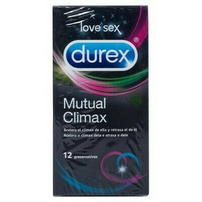 DUREX MUTUAL CLIMAX PRESERVATIVOS 12 U