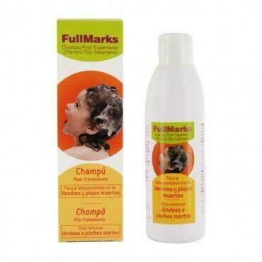 FULLMARKS CHAMPU POST- TRATAMIENTO PEDICULICIDA 150 ML