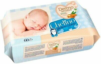 CHELINO FASHION  LOVE TOALLITAS INFANTILES 60 TOALLITAS