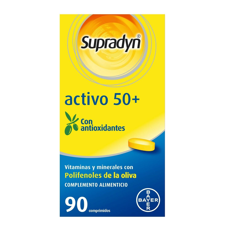 SUPRADYN ACTIVO 50  ANTIOXIDANTES 90 COMPRIMIDOS