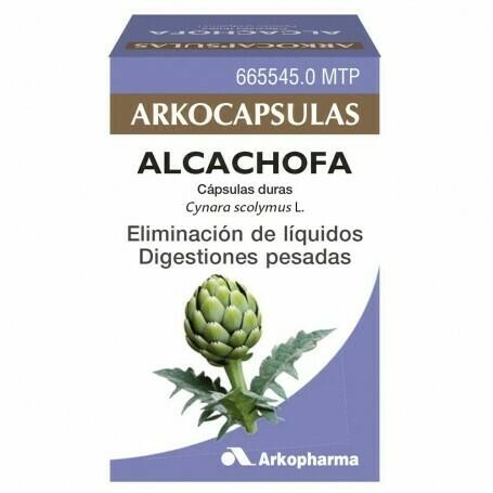 ALCACHOFA ARKOCAPSULAS 150 MG 100 CAPSULAS