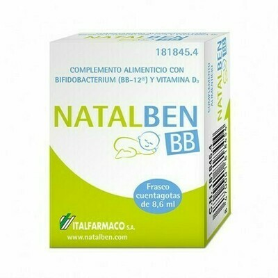 NATALBEN BB CUENTAGOTAS 8.6 ML