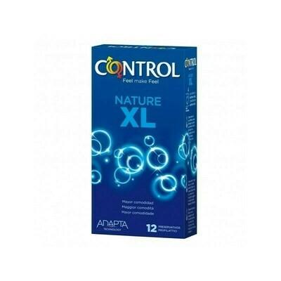 CONTROL ADAPTA XL PRESERVATIVOS 12 U