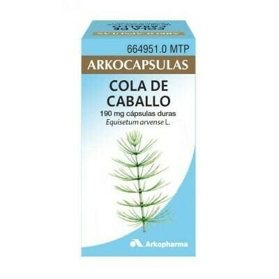 COLA DE CABALLO ARKOCAPSULAS 190 MG 50 CAPSULAS