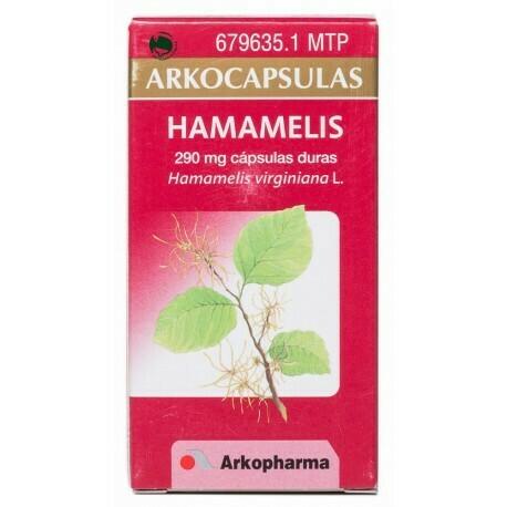HAMAMELIS ARKOCAPSULAS 220 MG 100 CAPSULAS
