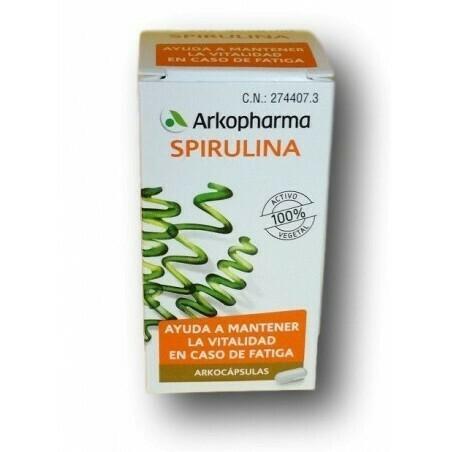 SPIRULINA ARKOPHARMA 48 CAPSULAS