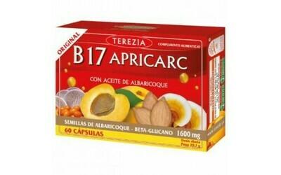 TEREZIA B17 APRICARC CON ACEITE DE ALBARICOQUE 60CAPS