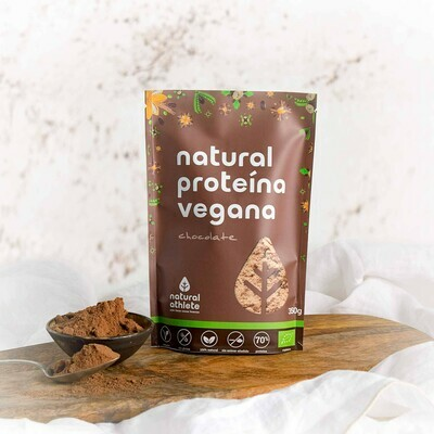 NATURAL ATHLETE PROTEINA VEGANA CHOCOLATE 350G