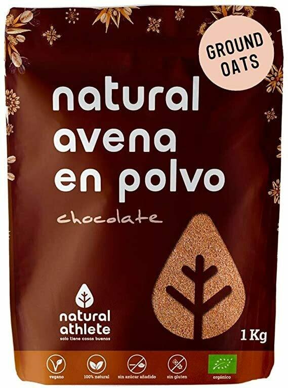 NATURAL ATHLETE AVENA  SABOR CHOCOLATE 1KG