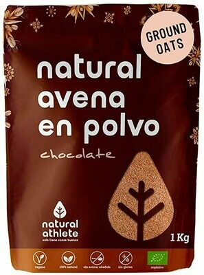 NATURAL ATHLETE AVENA  SABOR CHOCOLATE 1KG