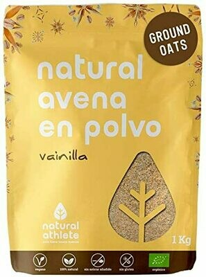 NATURAL ATHLETE AVENA POLVO VAINILLA 1K
