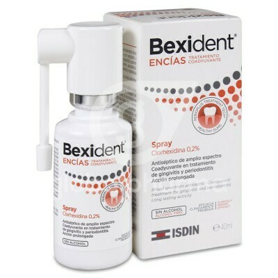 BEXIDENT ENCIAS SPRAY CLORHEXIDINA 0,2% TRATAMIE 40 ML