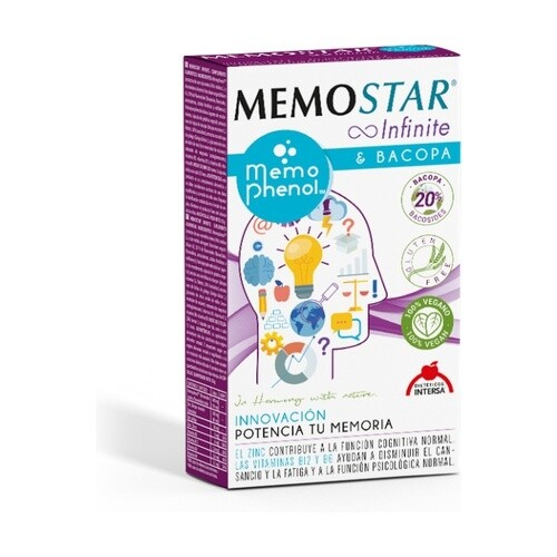 MEMOSTAR INFINITE 60 CAPSU INTERSA