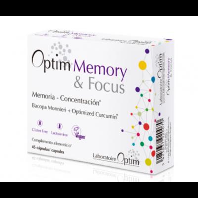 OPTIUM MEMORY FOCUS 45 CAPSULAS
