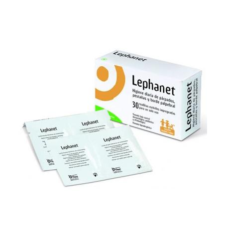 LEPHANET TOALLITAS ESTERILES 30   12 TOALLITAS