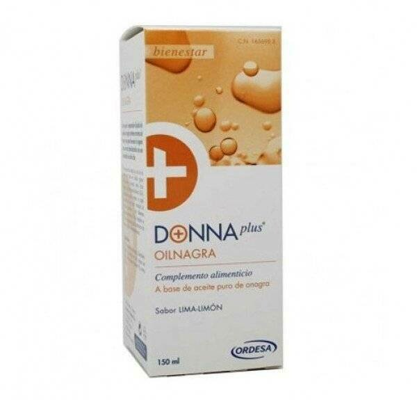DONNA PLUS  OILNAGRA 150 ML