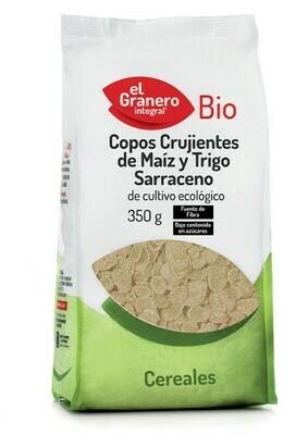 EL GRANERO COPOS CRUJIENTES MAIZ Y TRIGO SARRACENO 350 GR.