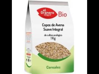 EL GRANERO COPOS DE AVENA SUAVES BIO 1KG
