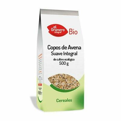 EL GRANERO COPOS DE AVENA INTEGRAL SUAVE 500 G BIO